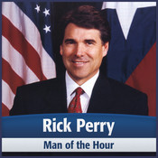 Rick Perry: Man of the Hour Audiobook, by Deaver Brown