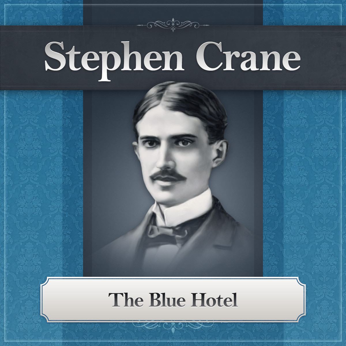 Printable The Blue Hotel: A Stephen Crane Story Audiobook Cover Art