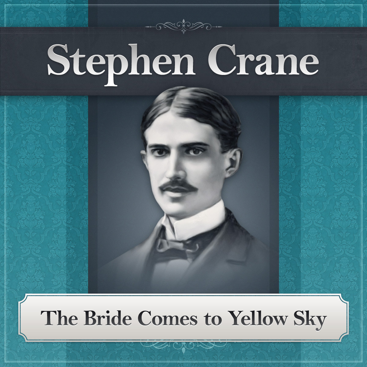 Printable The Bride Comes to Yellow Sky: A Stephen Crane Story Audiobook Cover Art