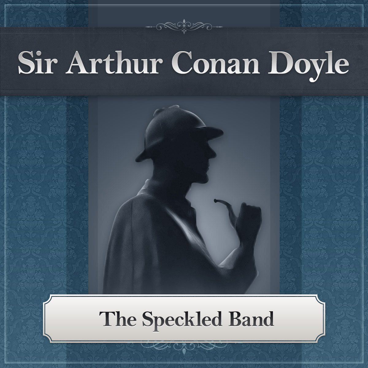 Printable The Speckled Band: A Sherlock Holmes Story Audiobook Cover Art