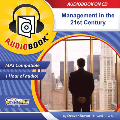Management in the 21st Century: More Work through Less Process Audiobook, by Deaver Brown