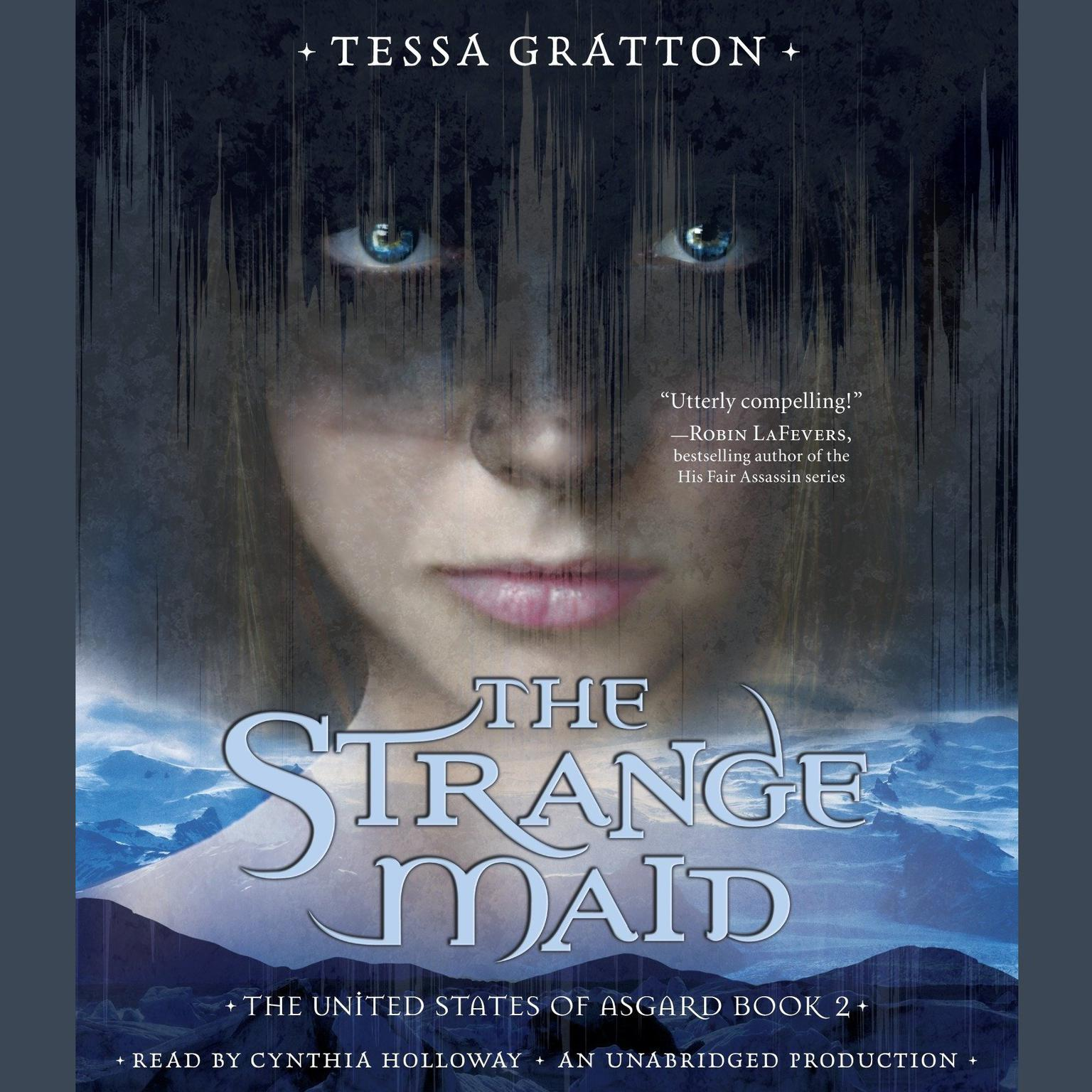 Printable The Strange Maid: Book 2 of United States of Asgard Audiobook Cover Art
