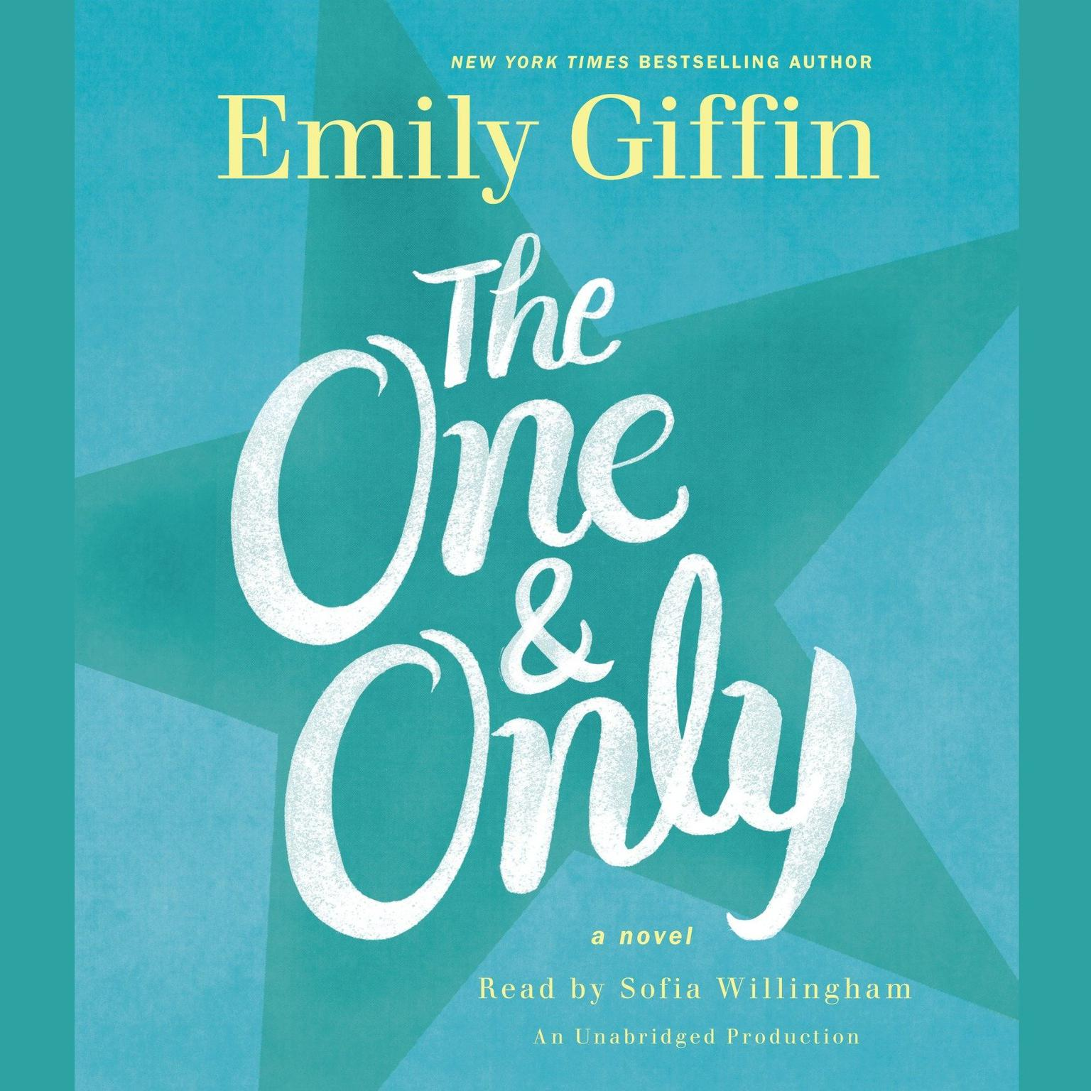 Printable The One & Only: A Novel Audiobook Cover Art