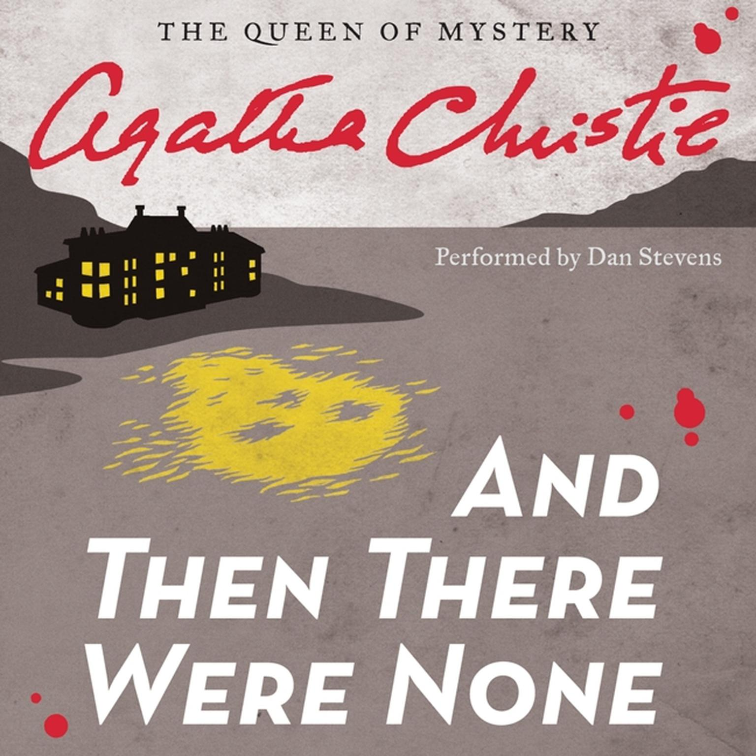Printable And Then There Were None Audiobook Cover Art