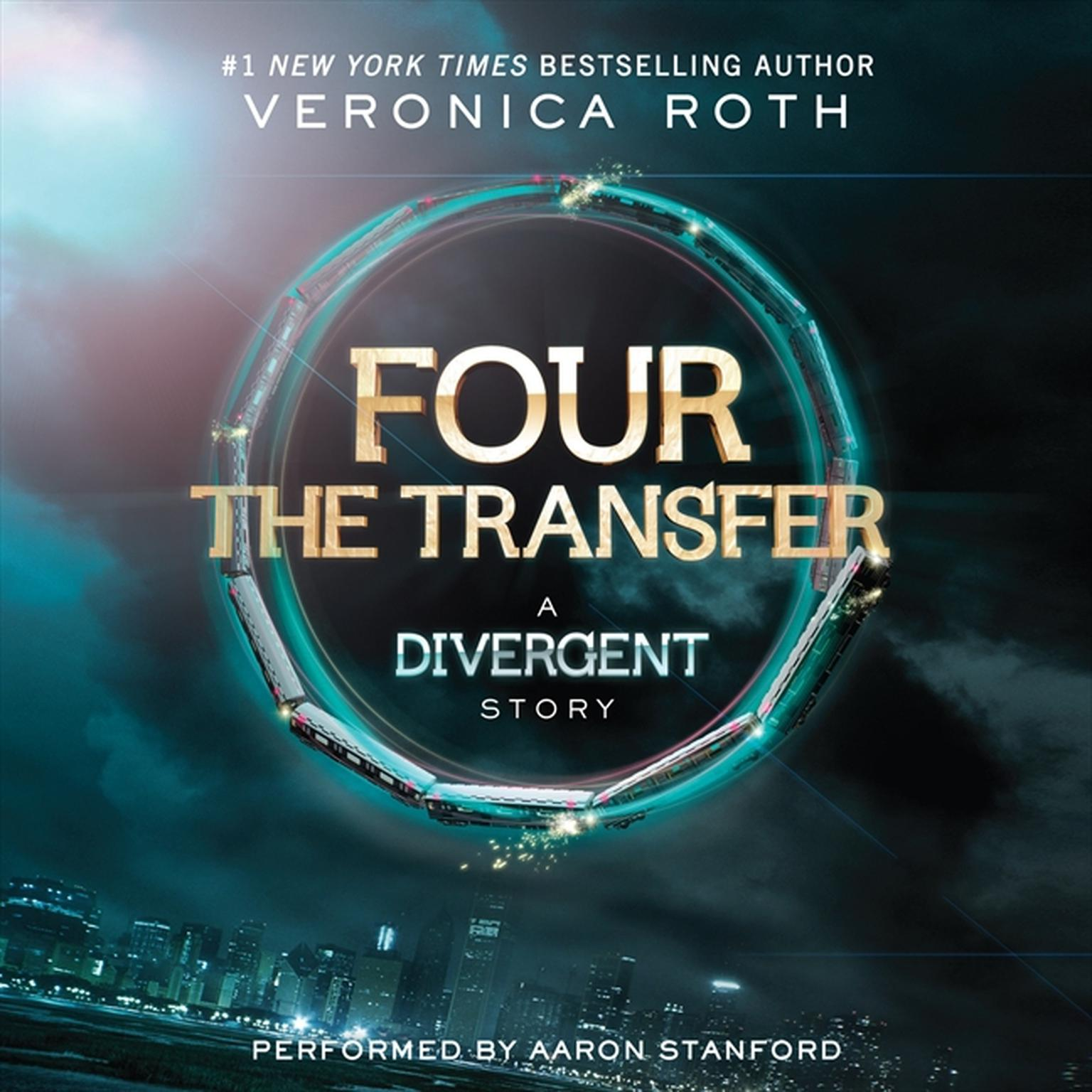 Printable Four: The Transfer: A Divergent Story Audiobook Cover Art
