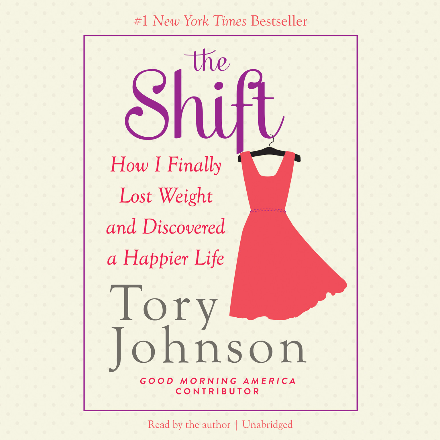 Printable The Shift: How I Finally Lost Weight and Discovered a Happier Life Audiobook Cover Art