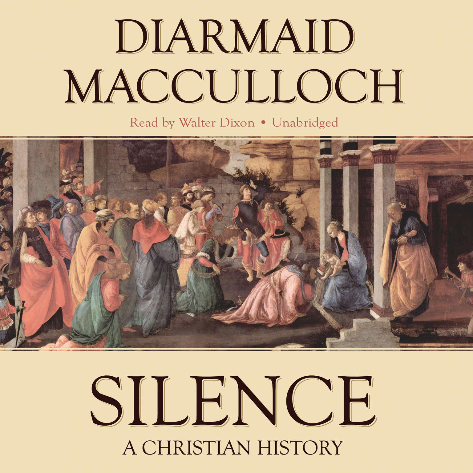 Printable Silence: A Christian History Audiobook Cover Art