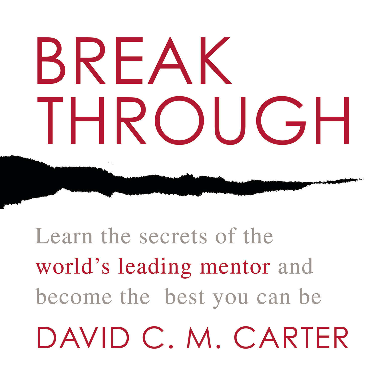 Printable Breakthrough: Learn the Secrets of the World's Leading Mentor and Become the Best You Can Be Audiobook Cover Art