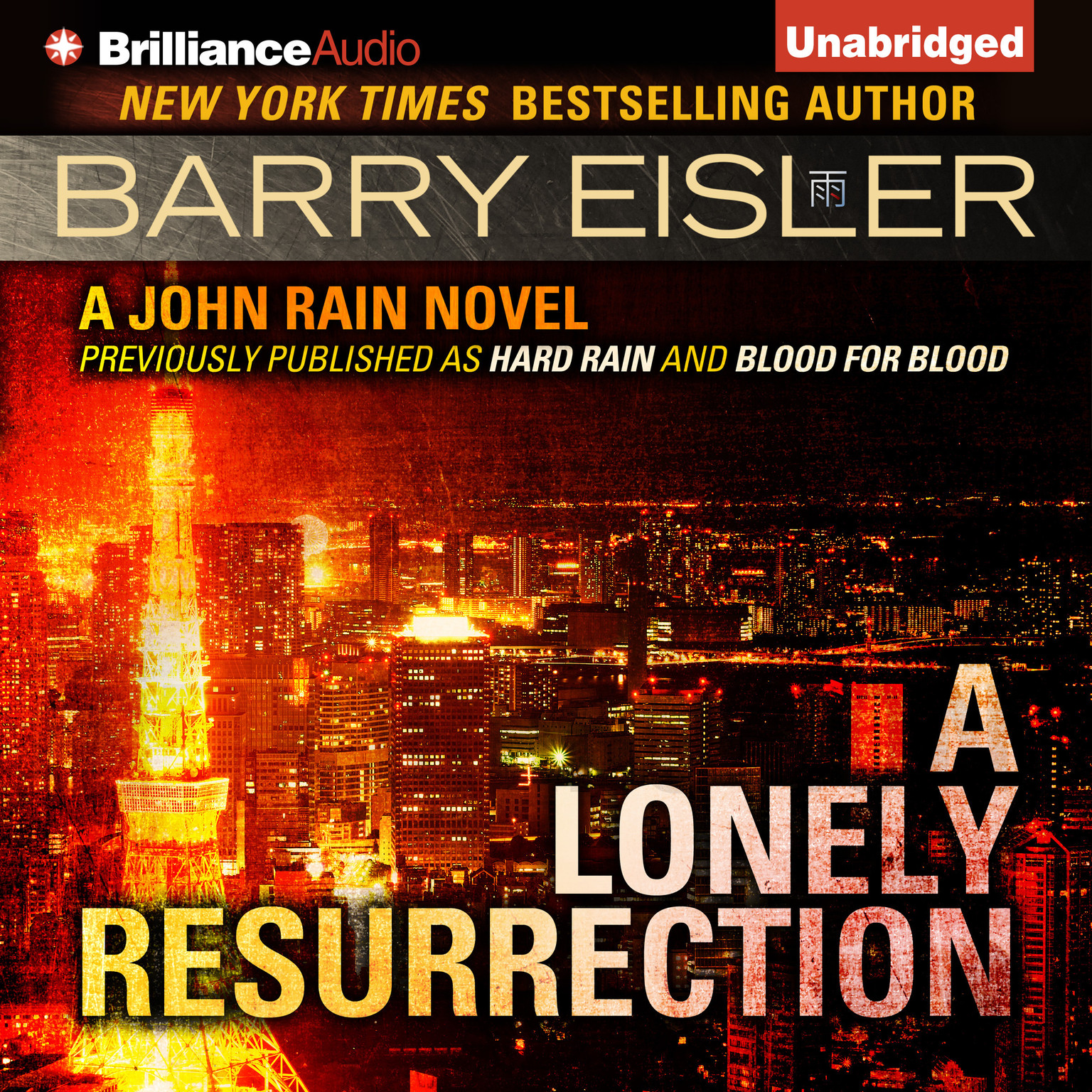 Printable A Lonely Resurrection Audiobook Cover Art