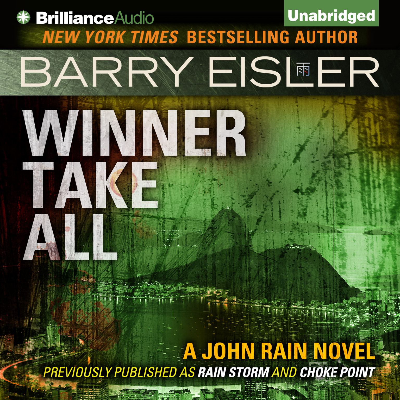 Printable Winner Take All Audiobook Cover Art