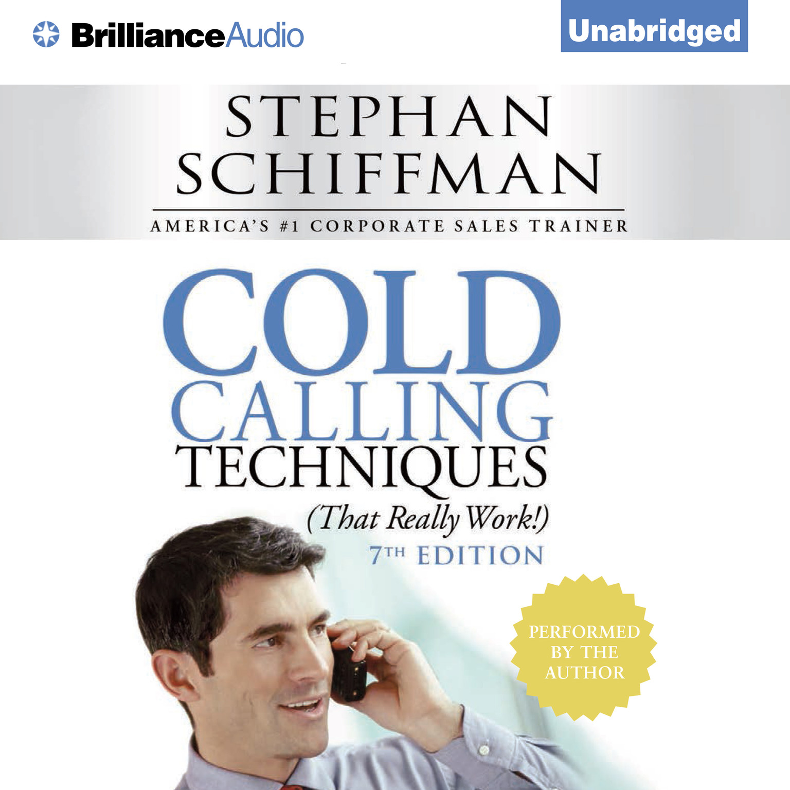 Printable Cold Calling Techniques: That Really Work Audiobook Cover Art