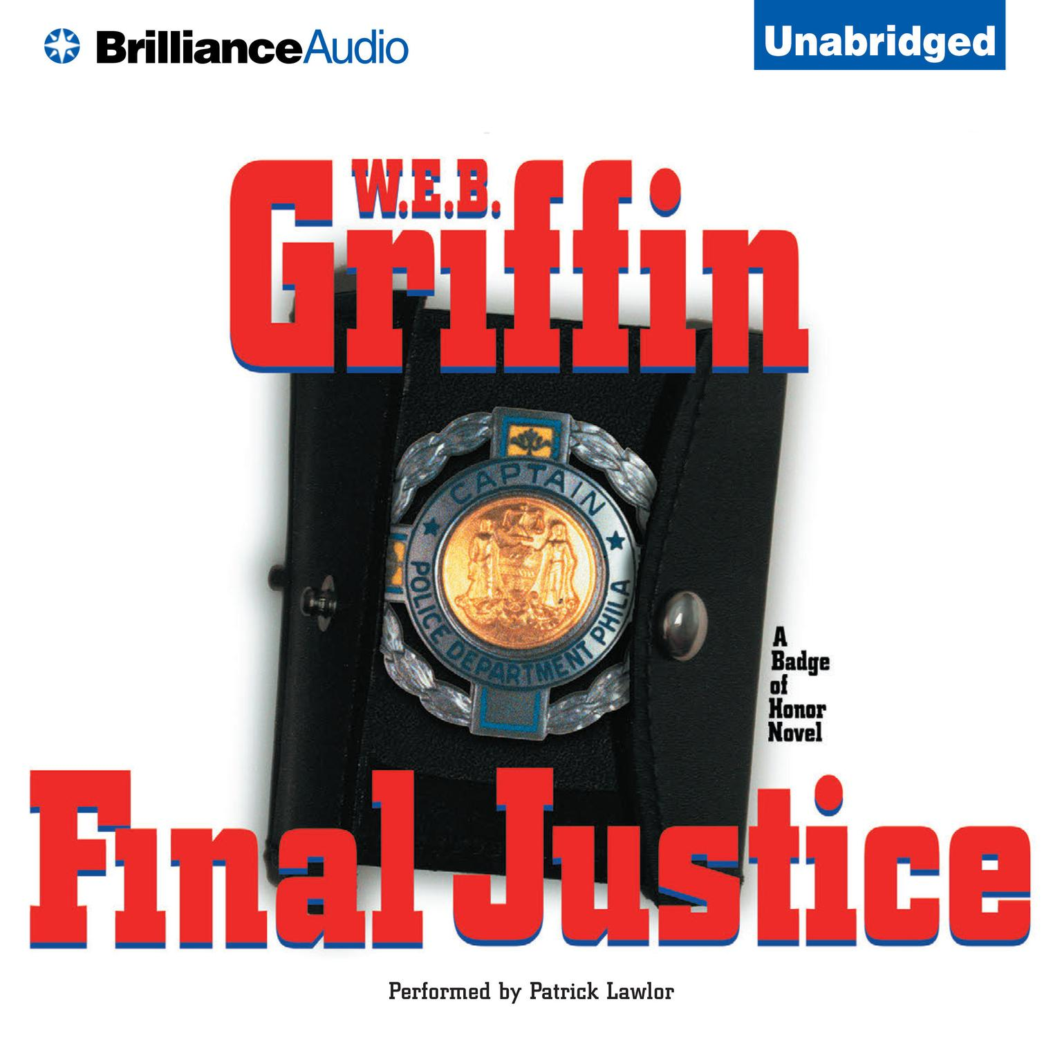 Printable Final Justice Audiobook Cover Art