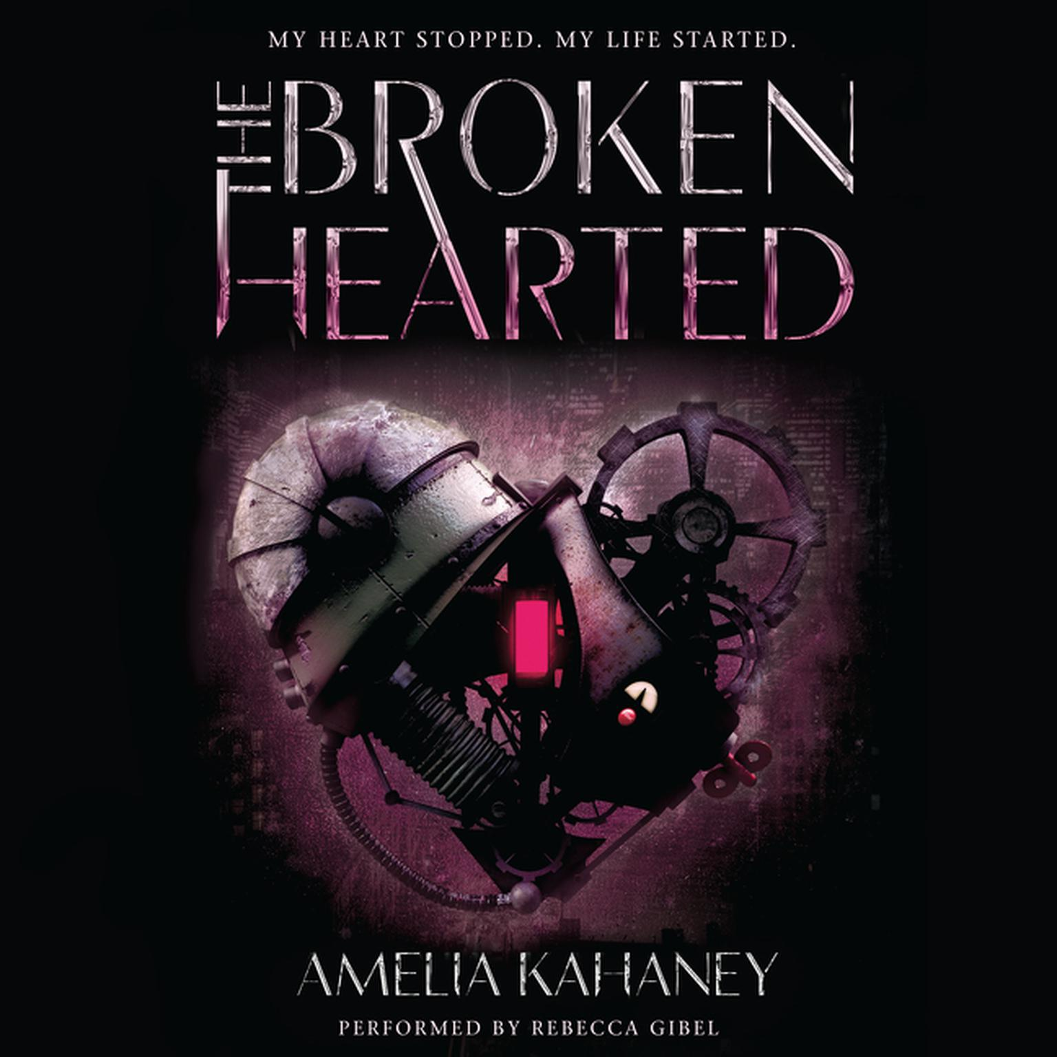 Printable The Brokenhearted Audiobook Cover Art