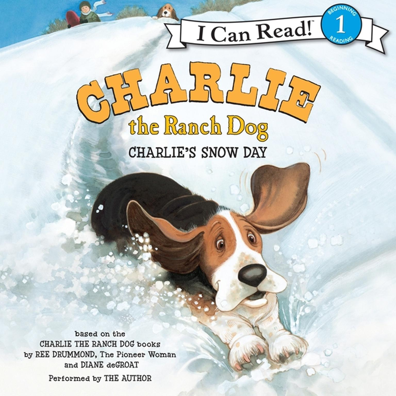 Printable Charlie the Ranch Dog: Charlie's Snow Day Audiobook Cover Art