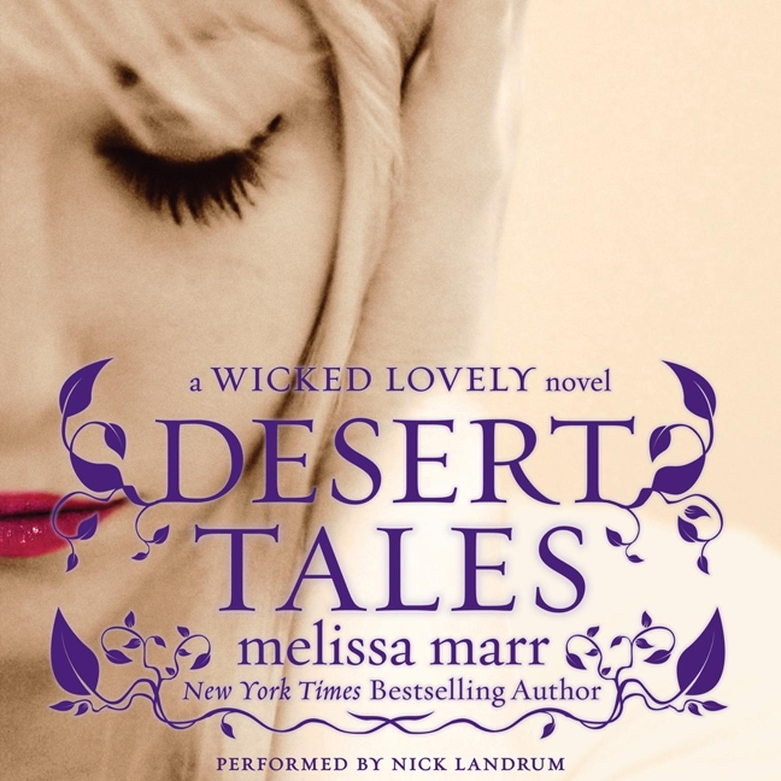Printable Desert Tales: A Wicked Lovely Novel Audiobook Cover Art