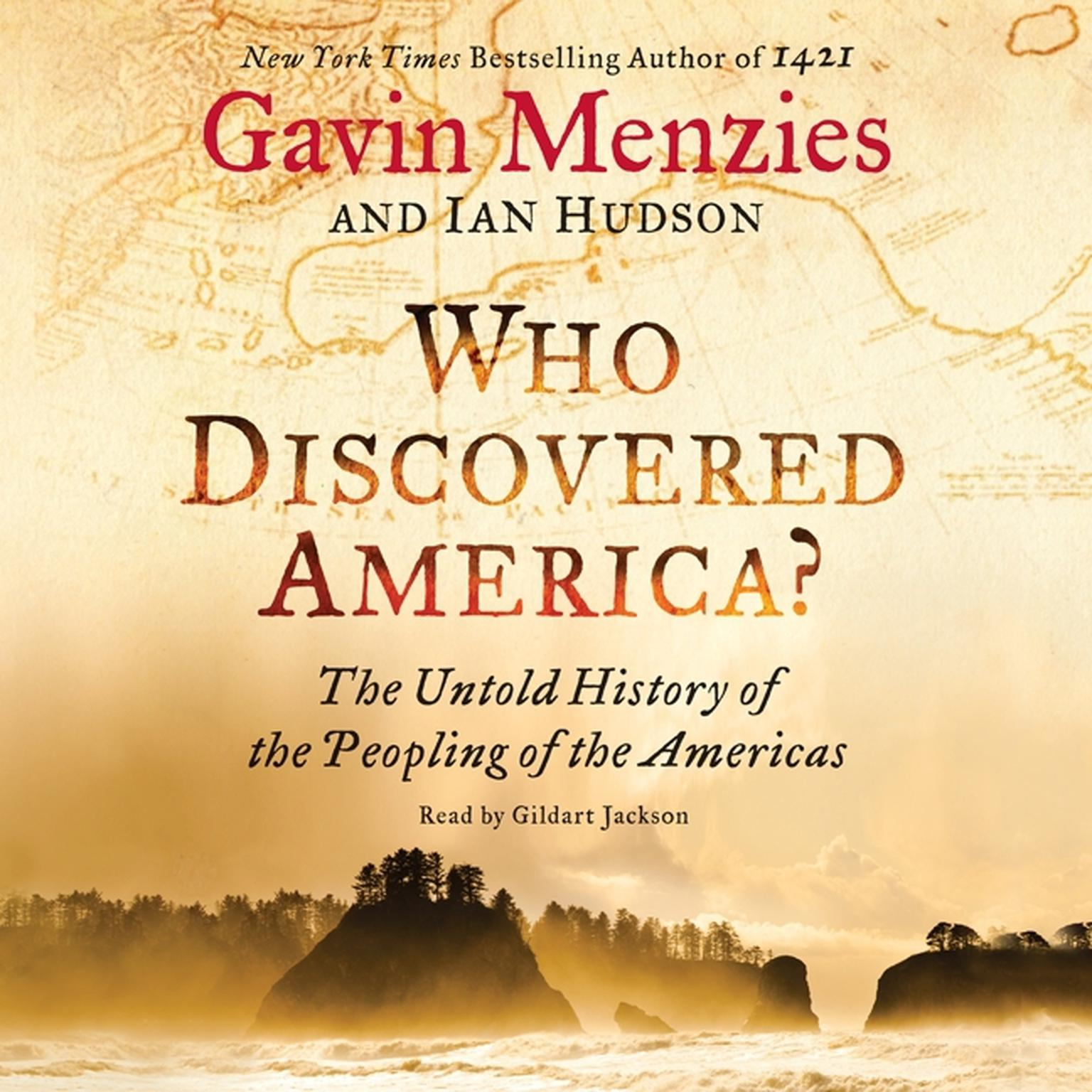 Printable Who Discovered America?: The Untold History of the Peopling of the Americas Audiobook Cover Art