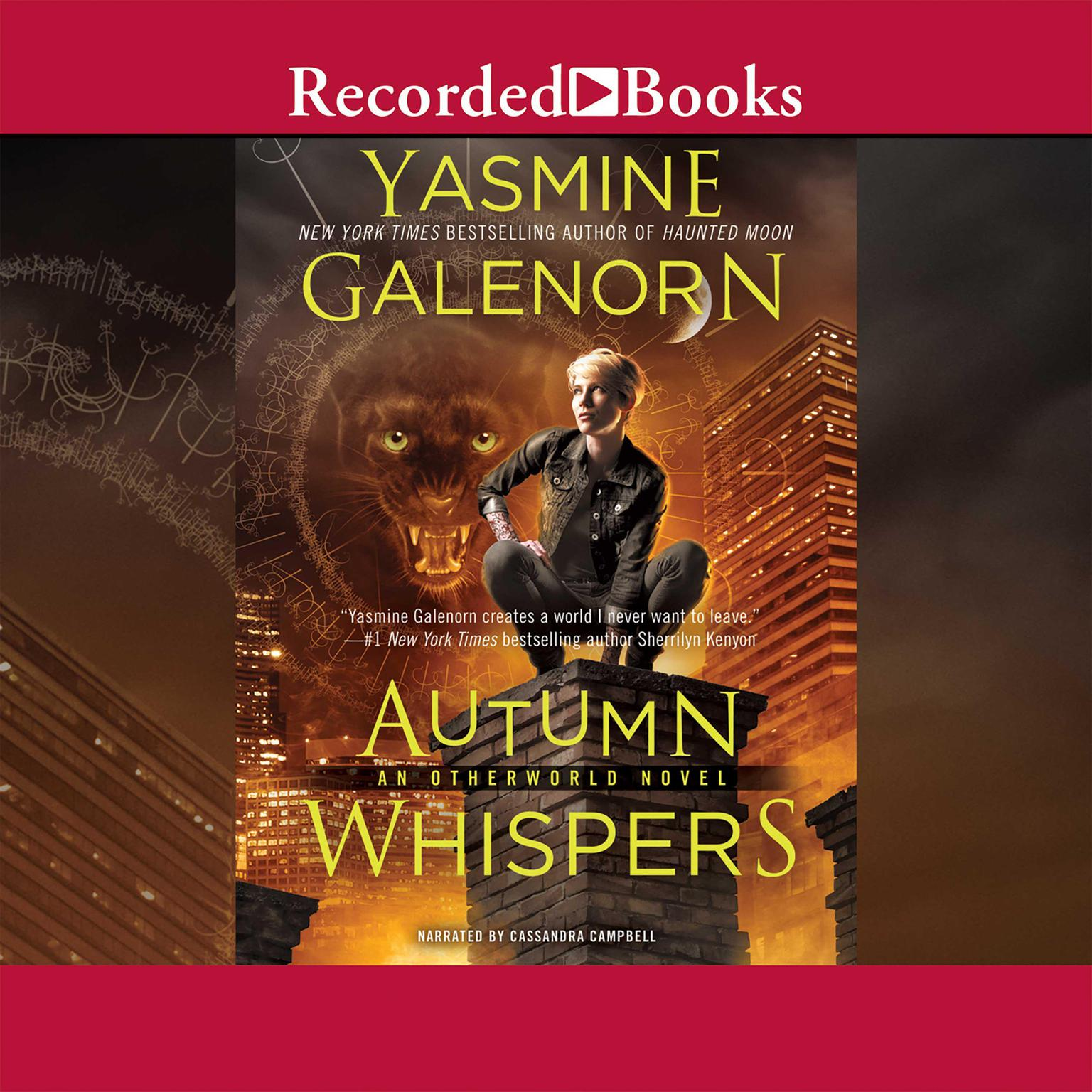 Printable Autumn Whispers Audiobook Cover Art