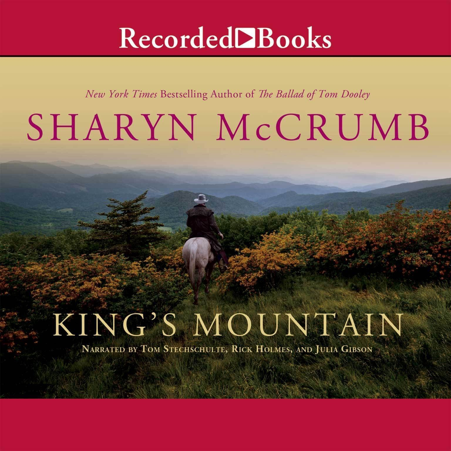 Printable King's Mountain Audiobook Cover Art