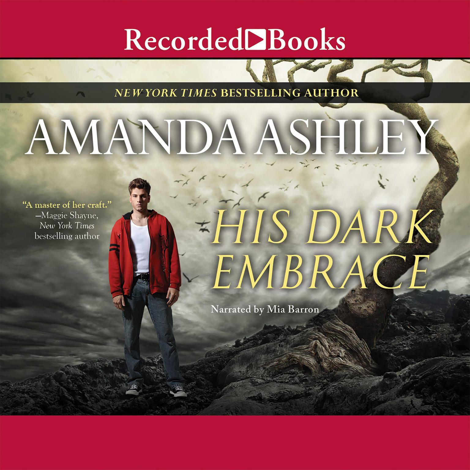 Printable His Dark Embrace Audiobook Cover Art
