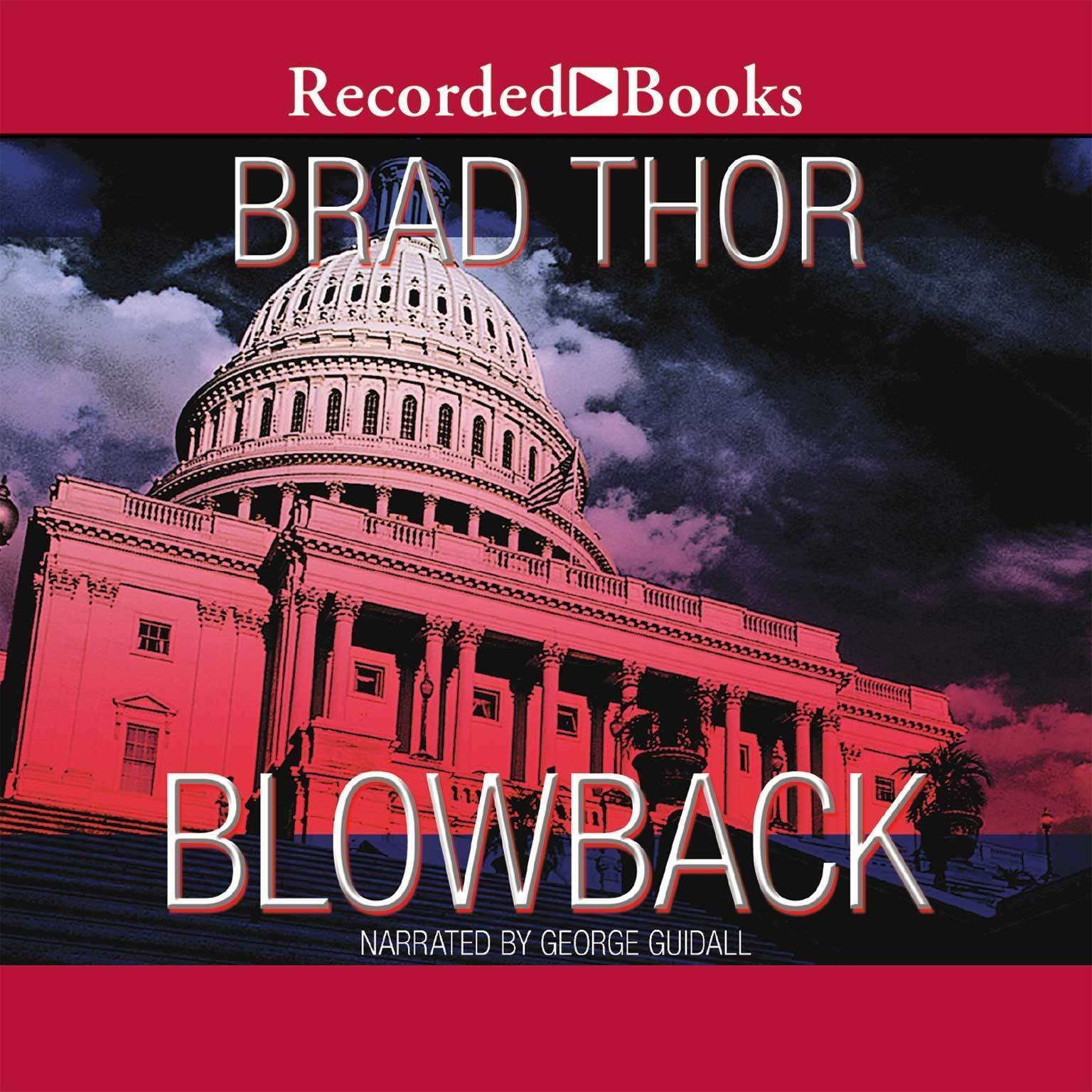 Printable Blowback: A Thriller Audiobook Cover Art