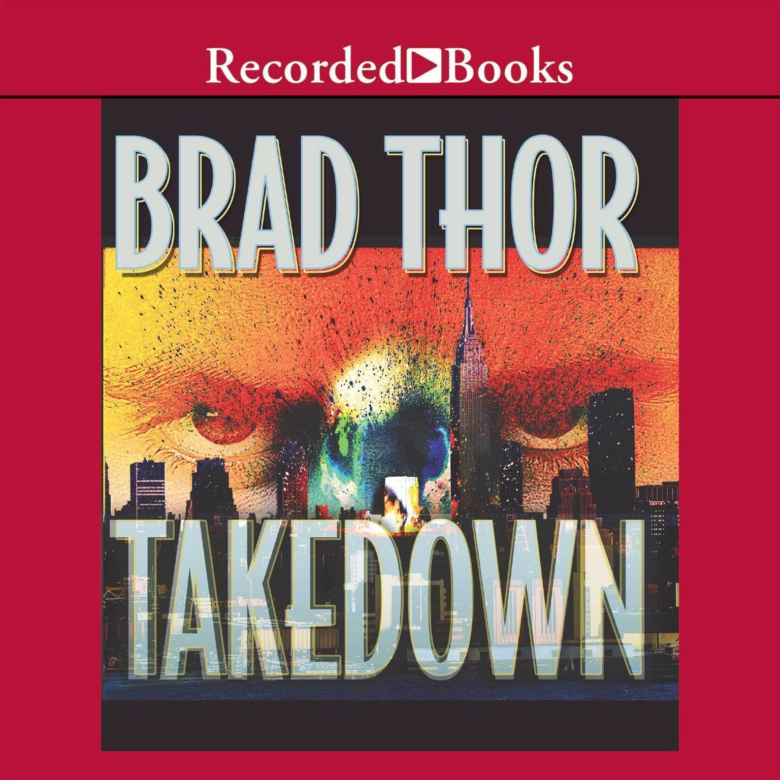 Printable Takedown: A Thriller Audiobook Cover Art