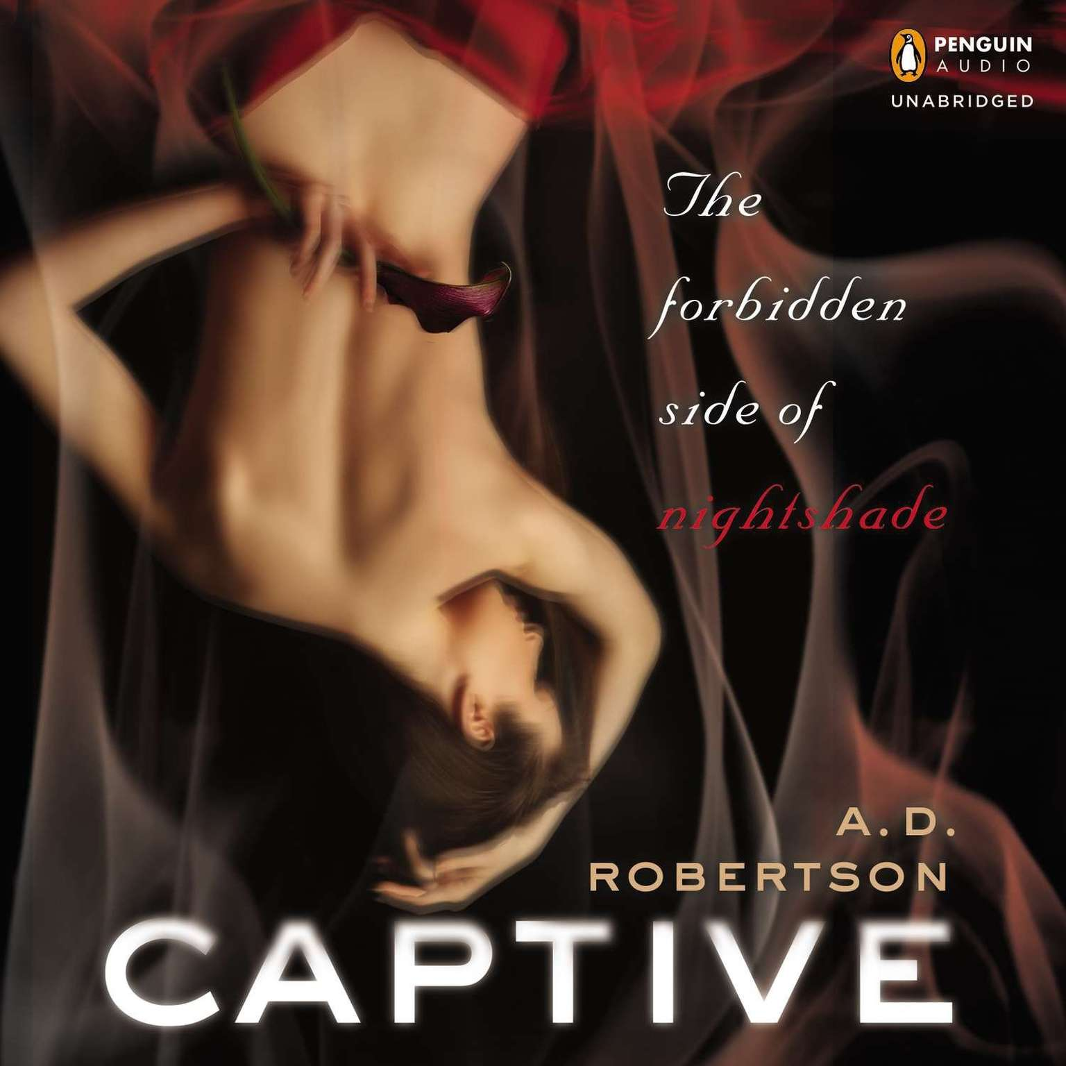 Printable Captive: The Forbidden Side of Nightshade Audiobook Cover Art