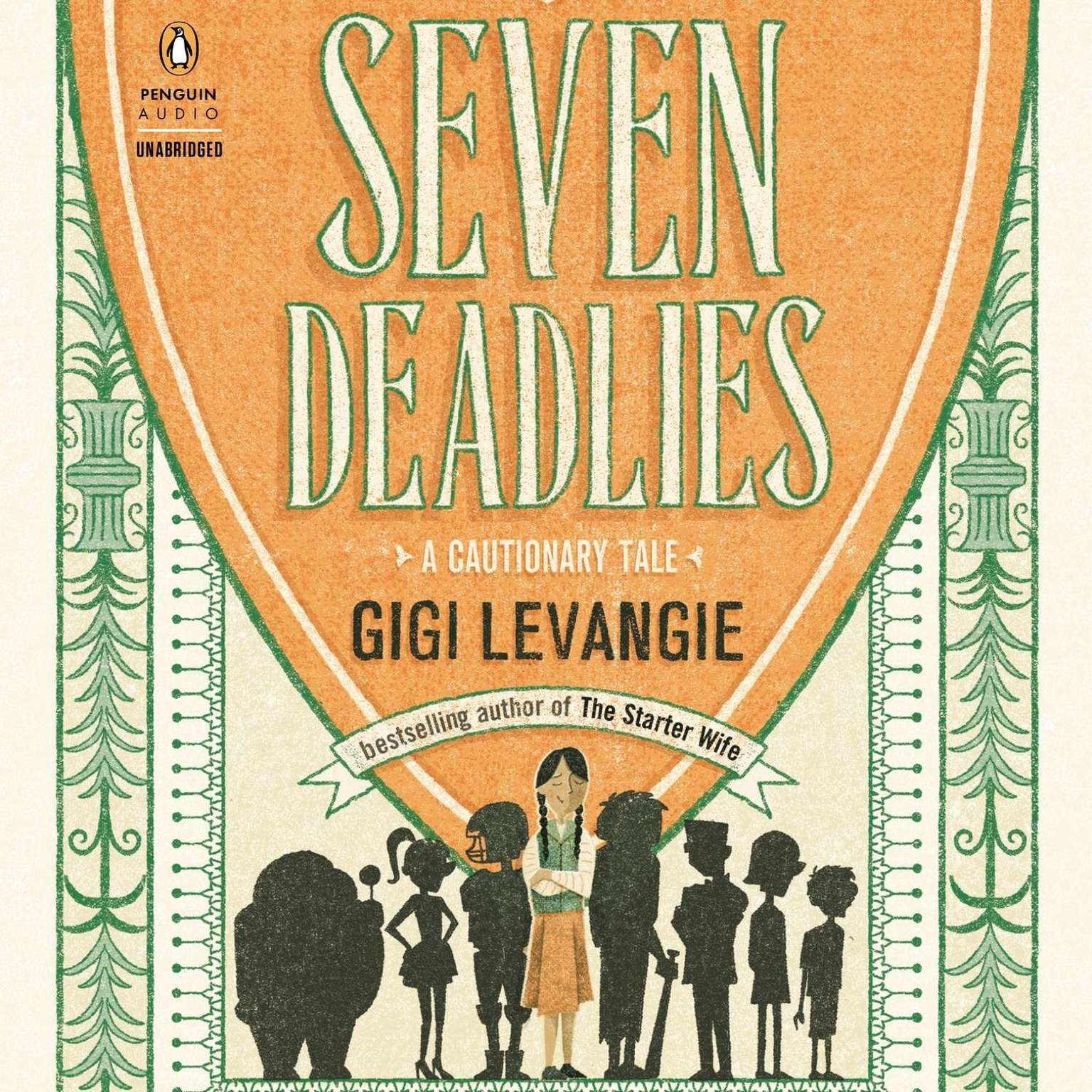 Printable Seven Deadlies: A Cautionary Tale Audiobook Cover Art
