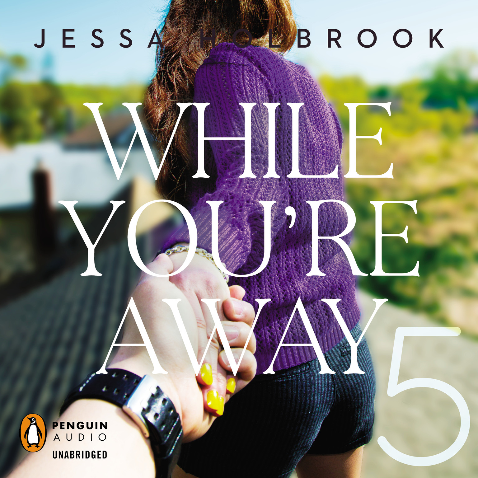 Printable While You're Away Part V Audiobook Cover Art