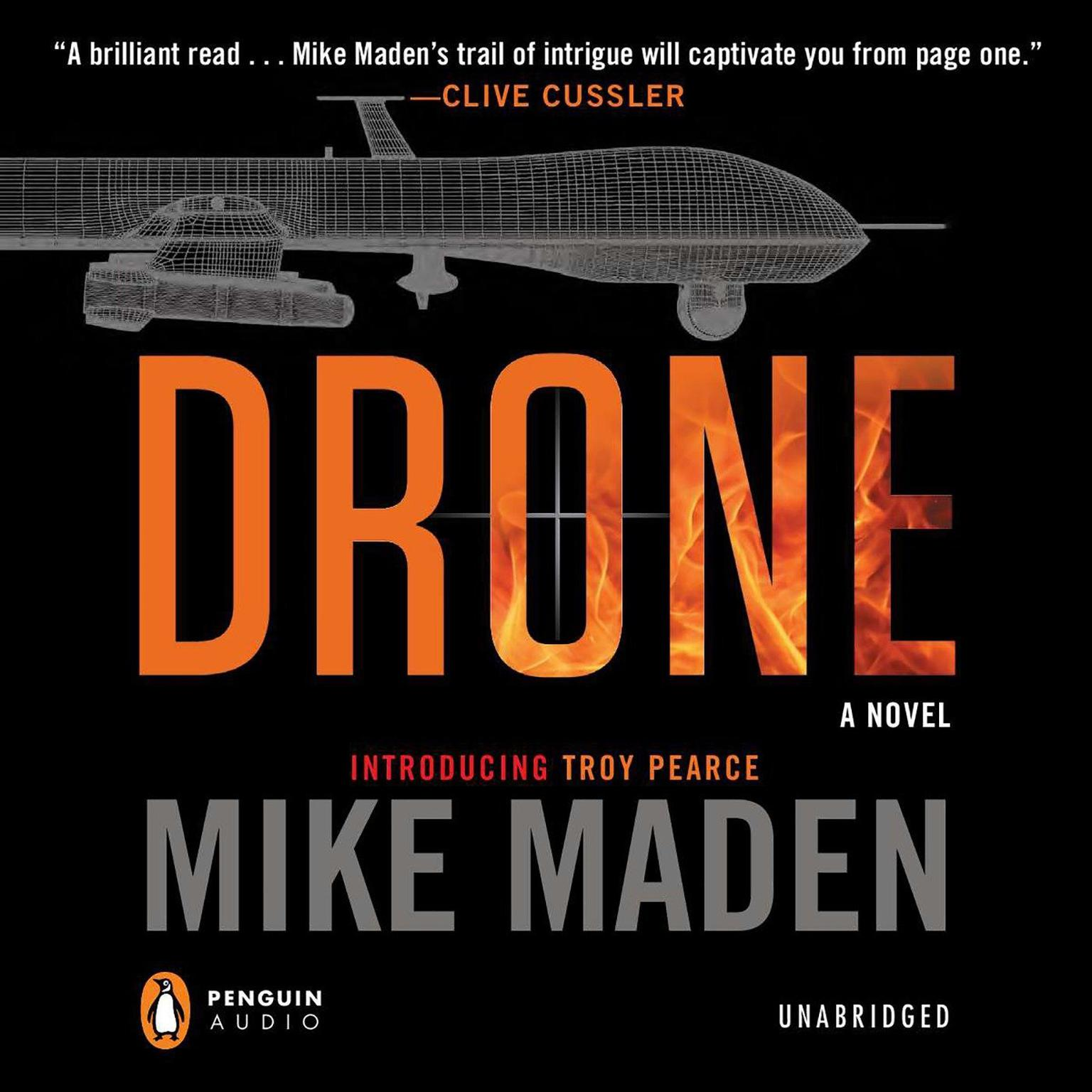 Printable Drone Audiobook Cover Art