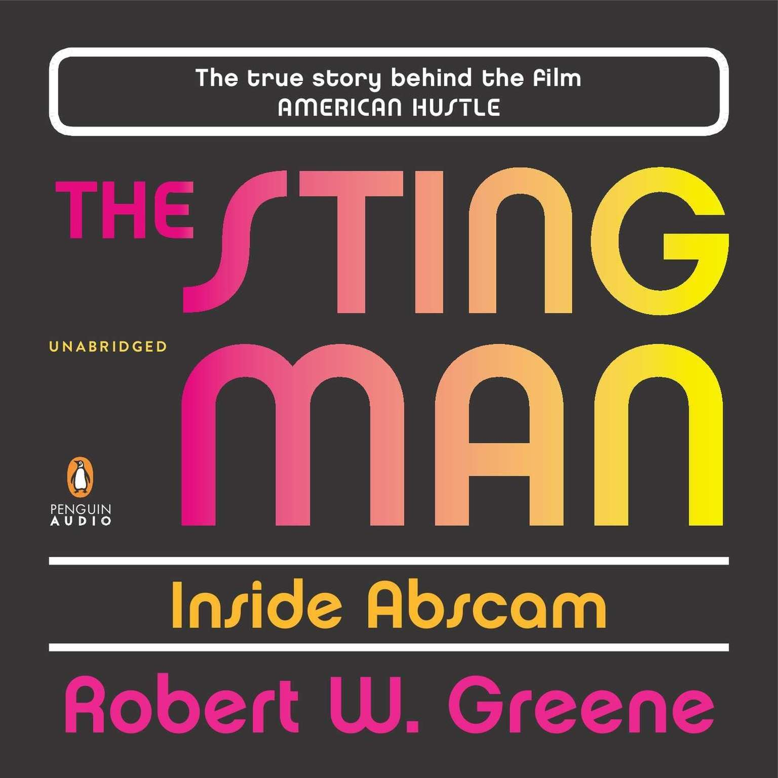 Printable The Sting Man: Inside Abscam Audiobook Cover Art