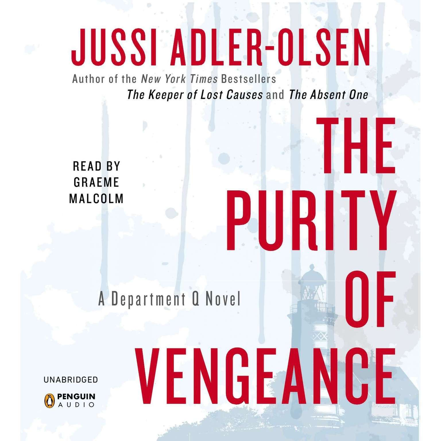 Printable The Purity of Vengeance: A Department Q Novel Audiobook Cover Art