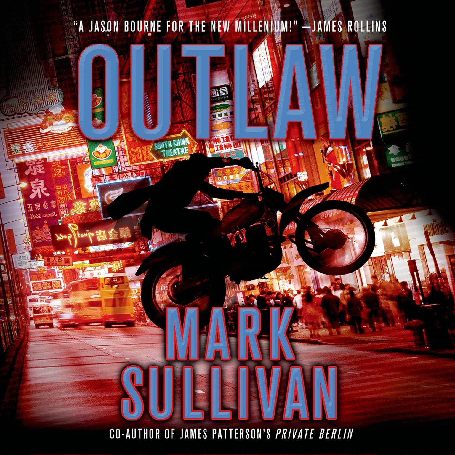 Printable Outlaw: A Robin Monarch Novel Audiobook Cover Art