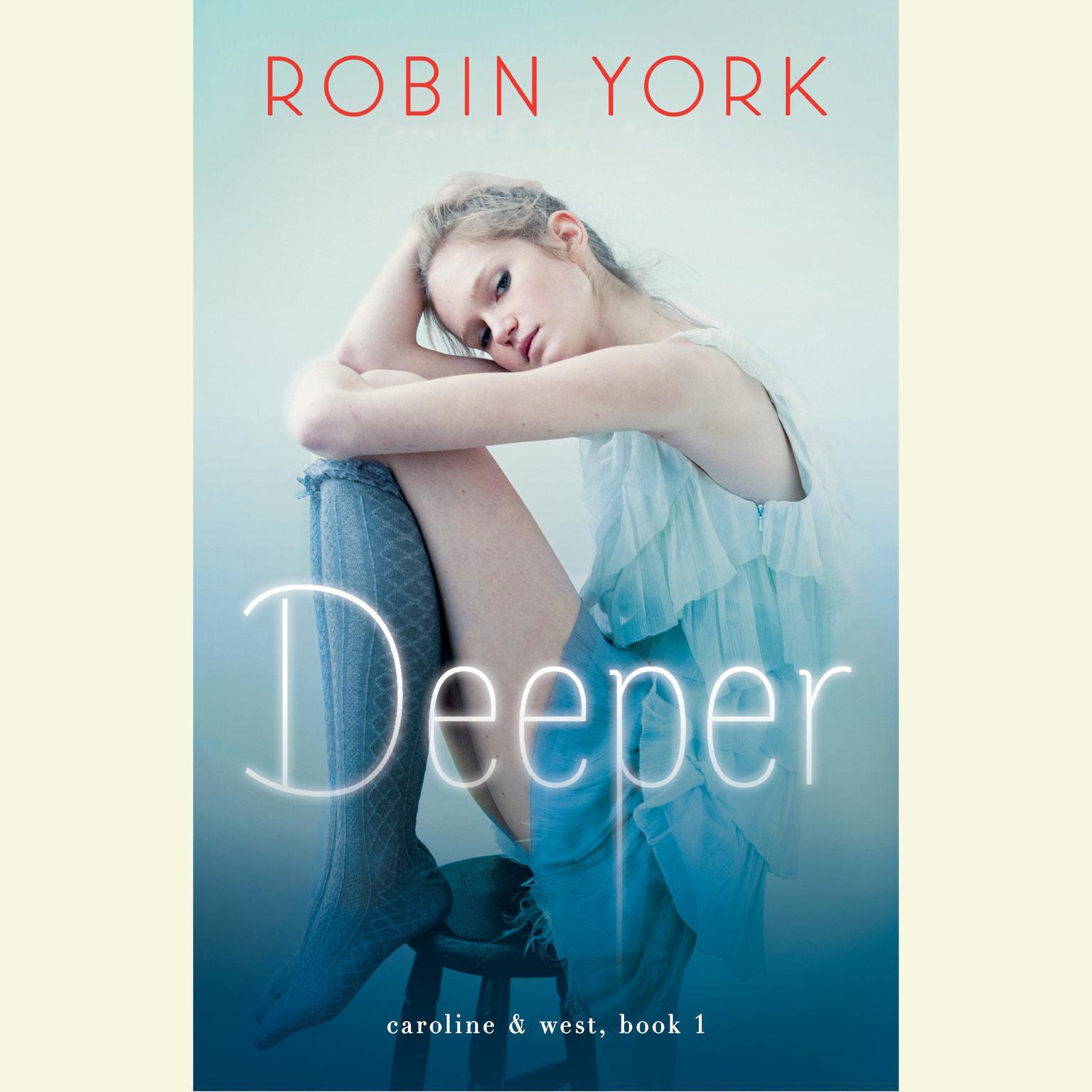 Printable Deeper: A Novel Audiobook Cover Art