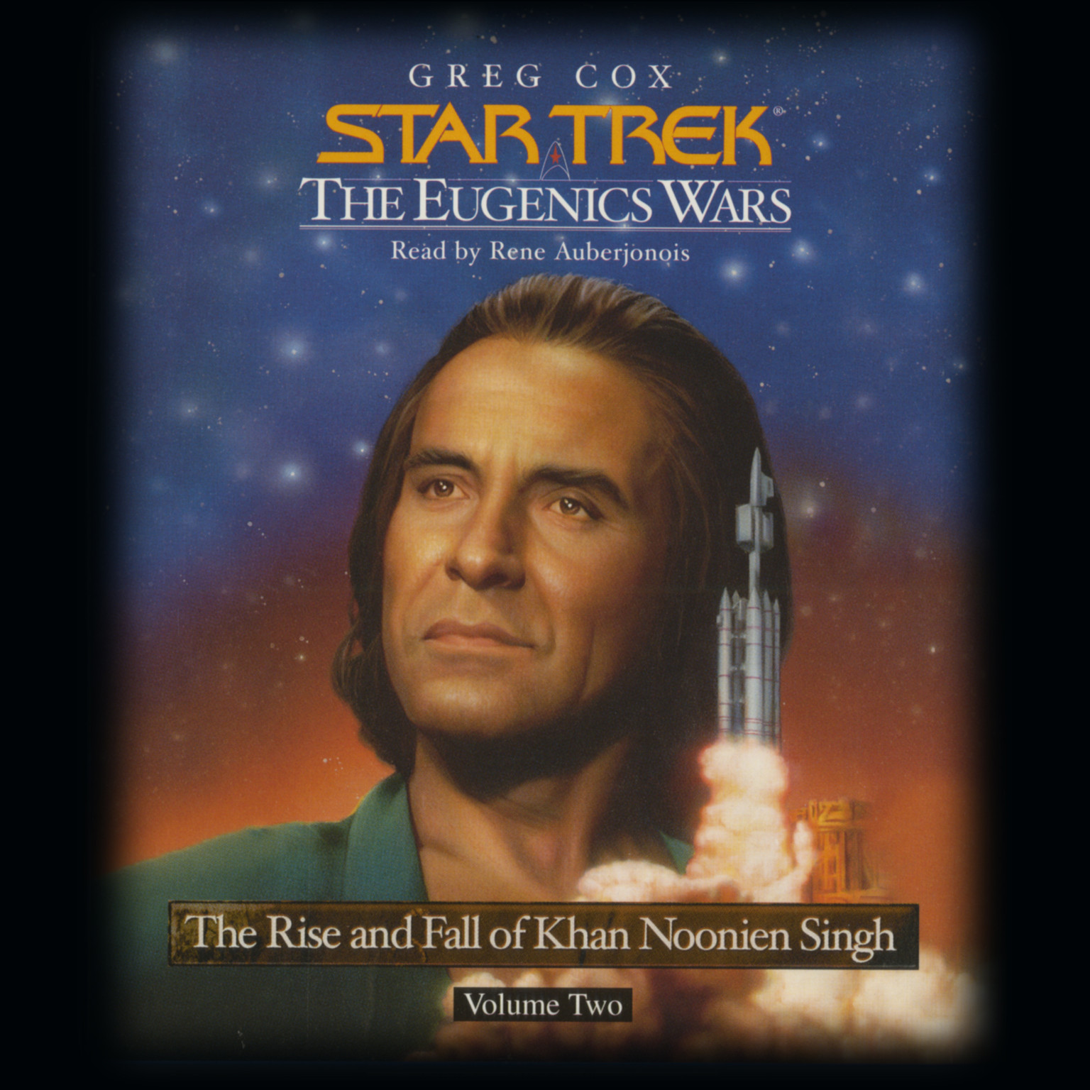 Printable Star Trek: The Eugenic Wars, Vol. II: The Rise and Fall of Khan Noonnien Singh Audiobook Cover Art