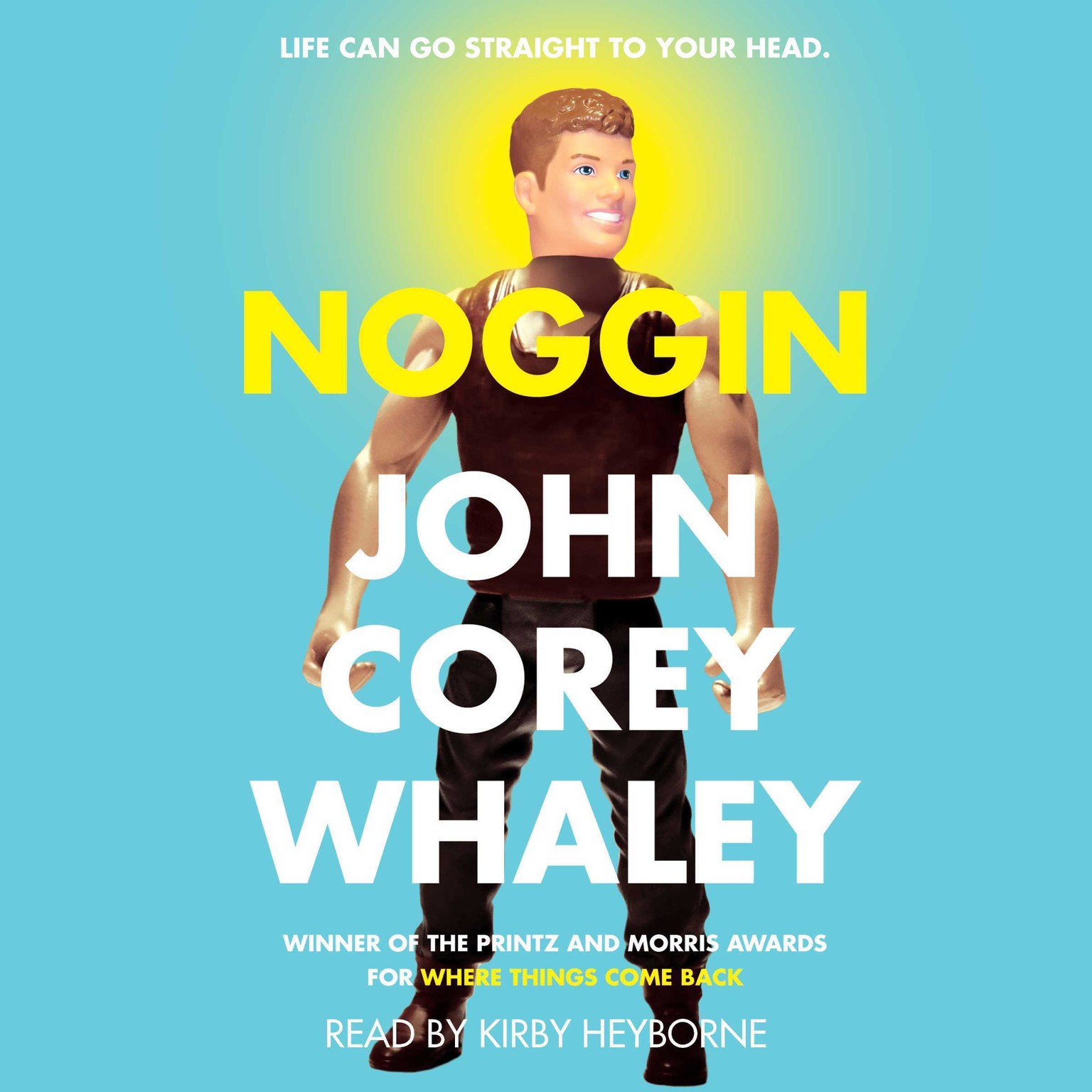Printable Noggin Audiobook Cover Art