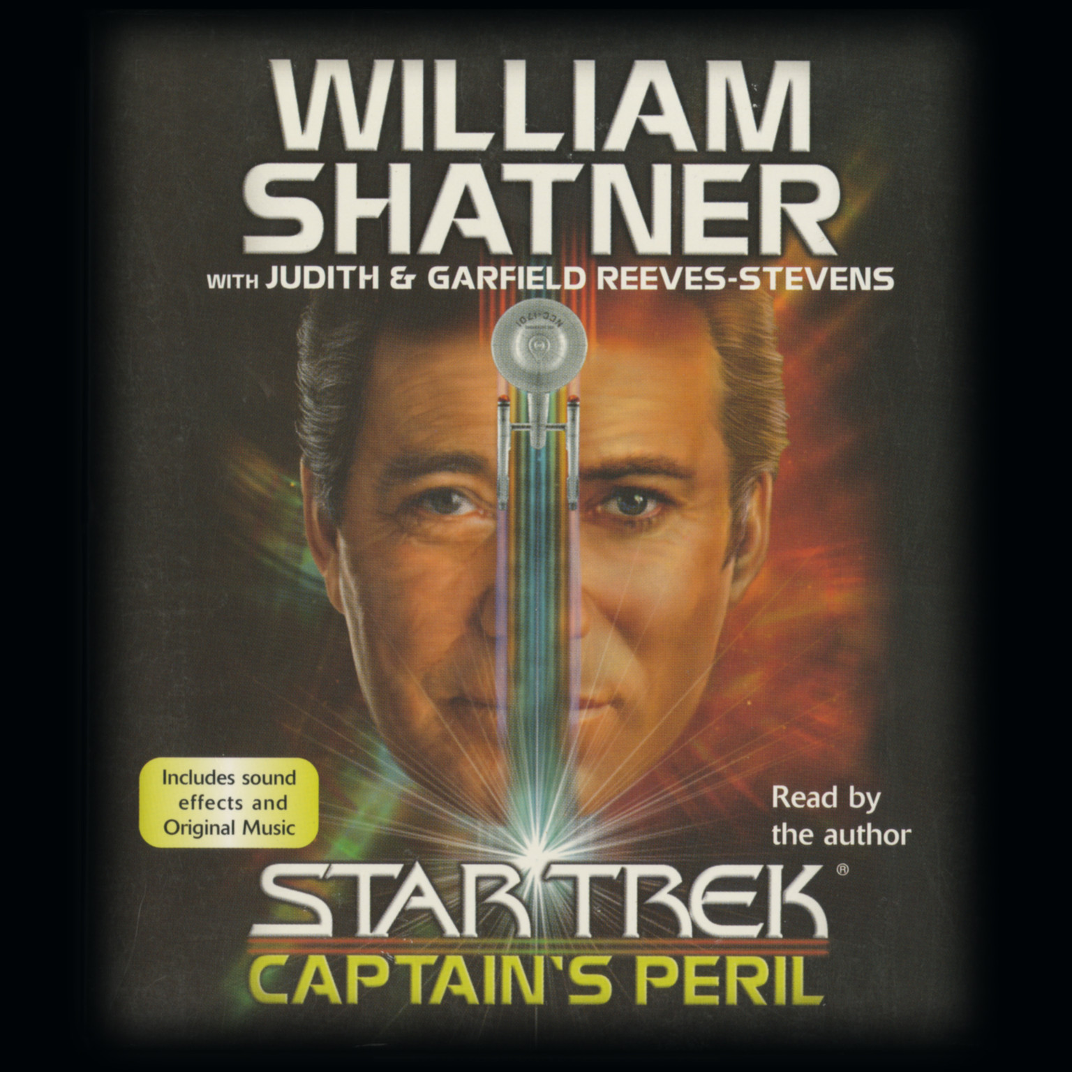 Printable Star Trek: Captain's Peril Audiobook Cover Art
