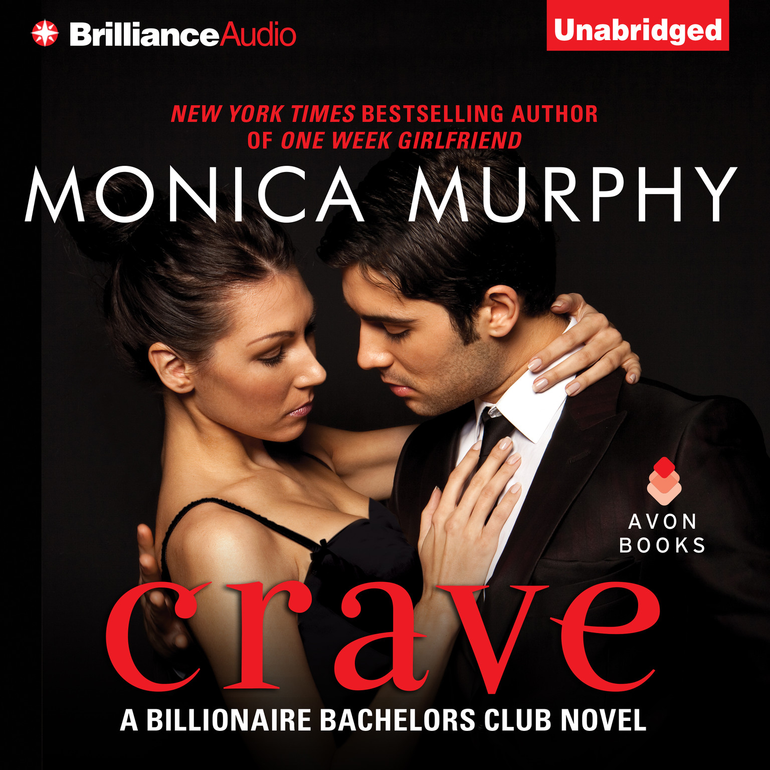 Printable Crave Audiobook Cover Art