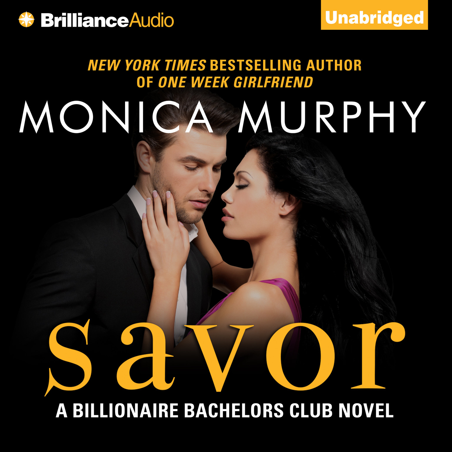 Printable Savor Audiobook Cover Art