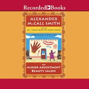 The Minor Adjustment Beauty Salon, by Alexander McCall Smit