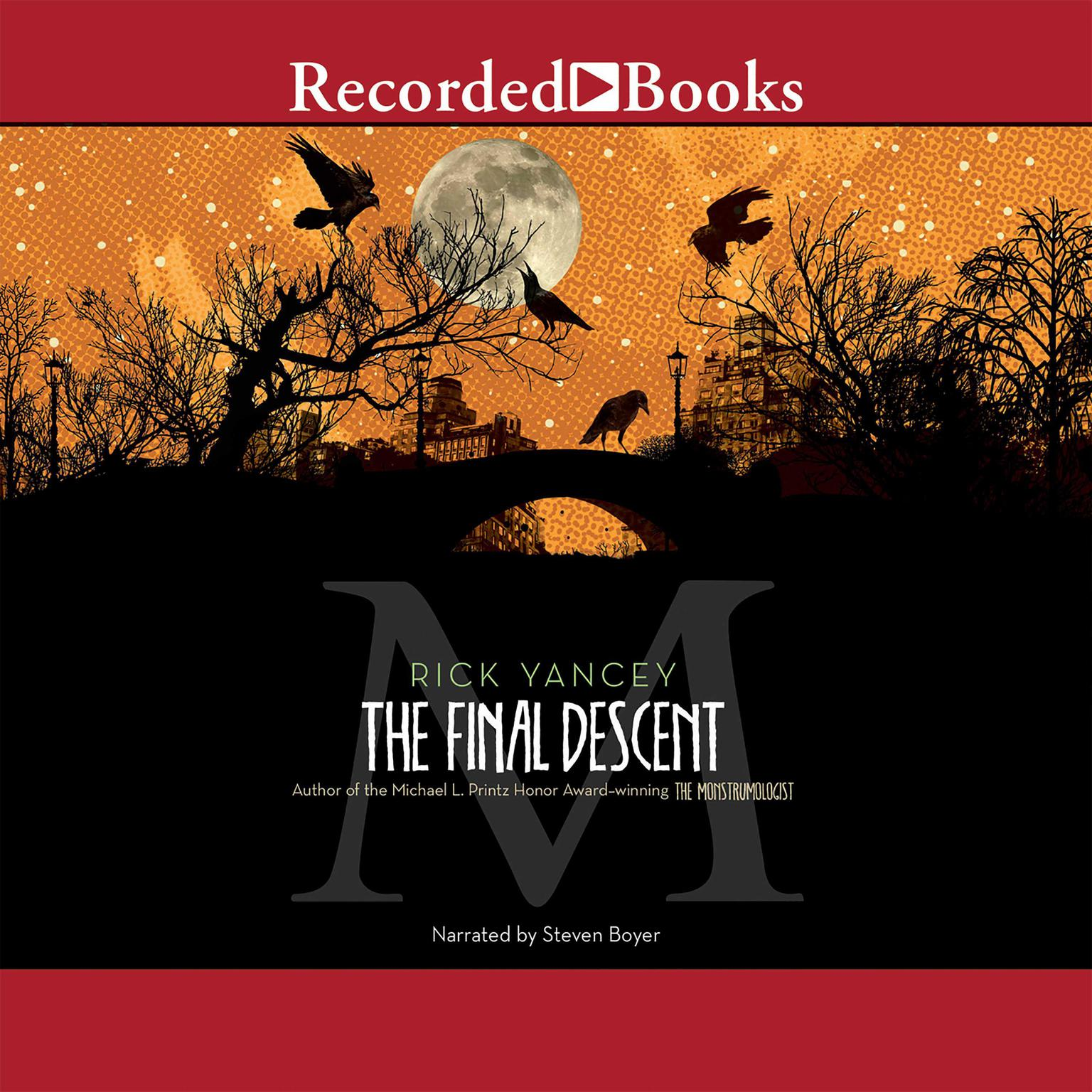 Printable The Final Descent Audiobook Cover Art