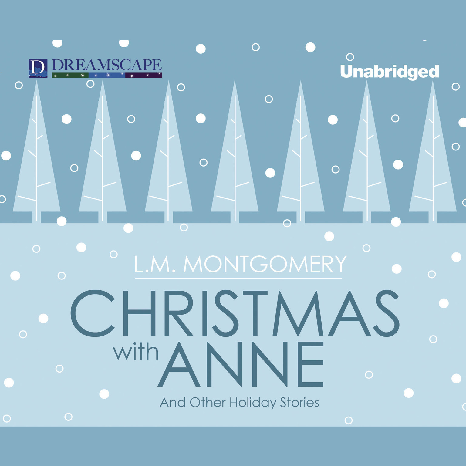 Printable Christmas with Anne: and Other Holiday Stories Audiobook Cover Art