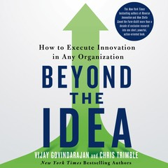Beyond the Idea: How to Execute Innovation in Any Organization Audiobook, by Chris Trimble, Vijay Govindarajan