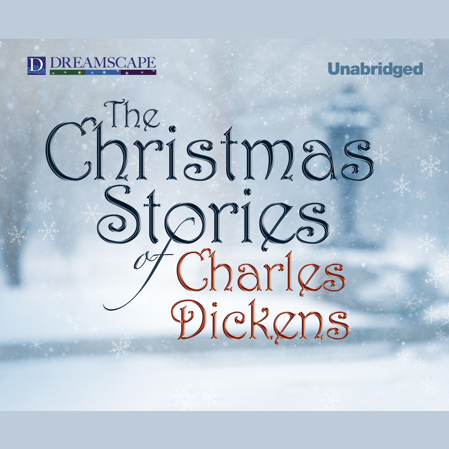 Printable The Christmas Stories of Charles Dickens Audiobook Cover Art