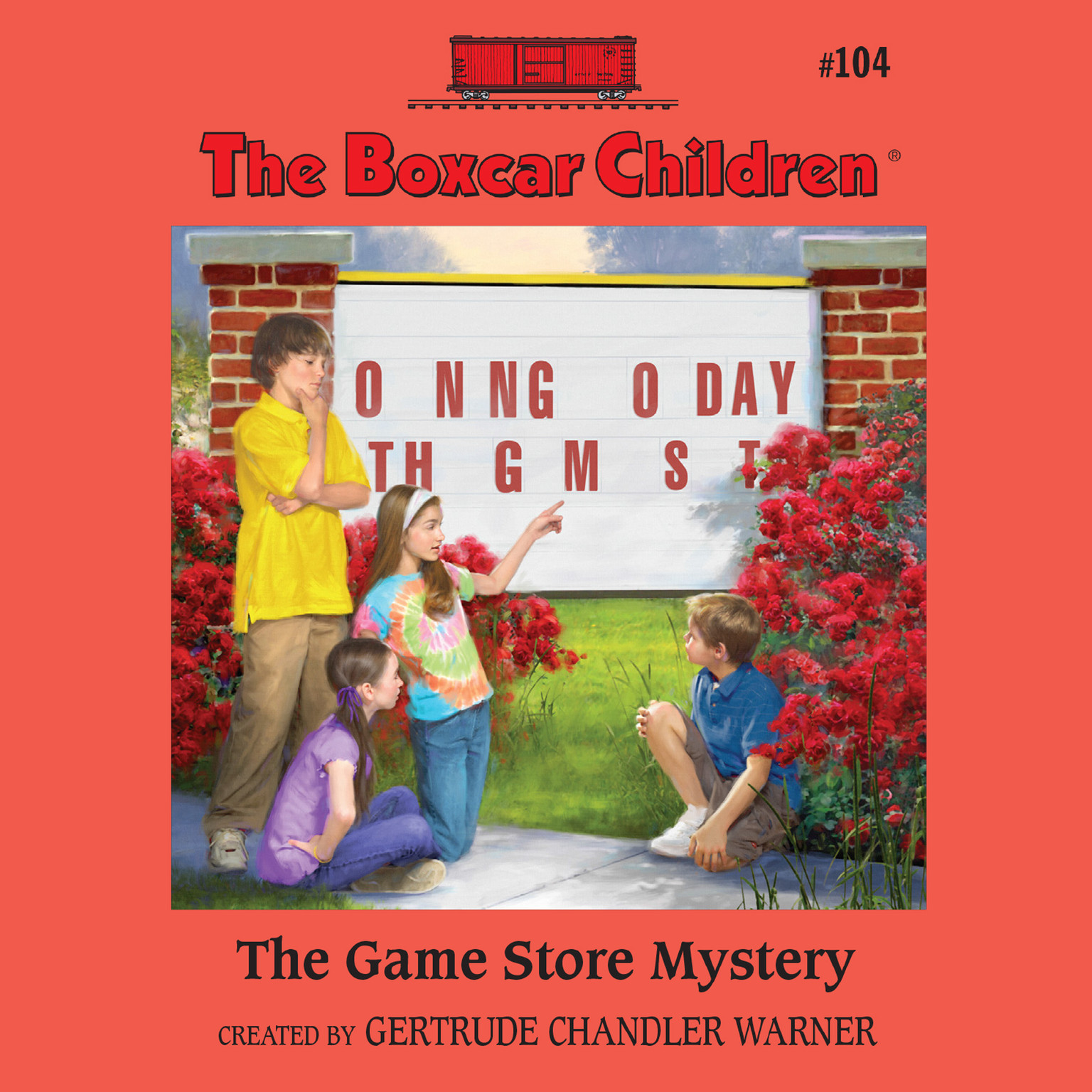 Printable The Game Store Mystery Audiobook Cover Art