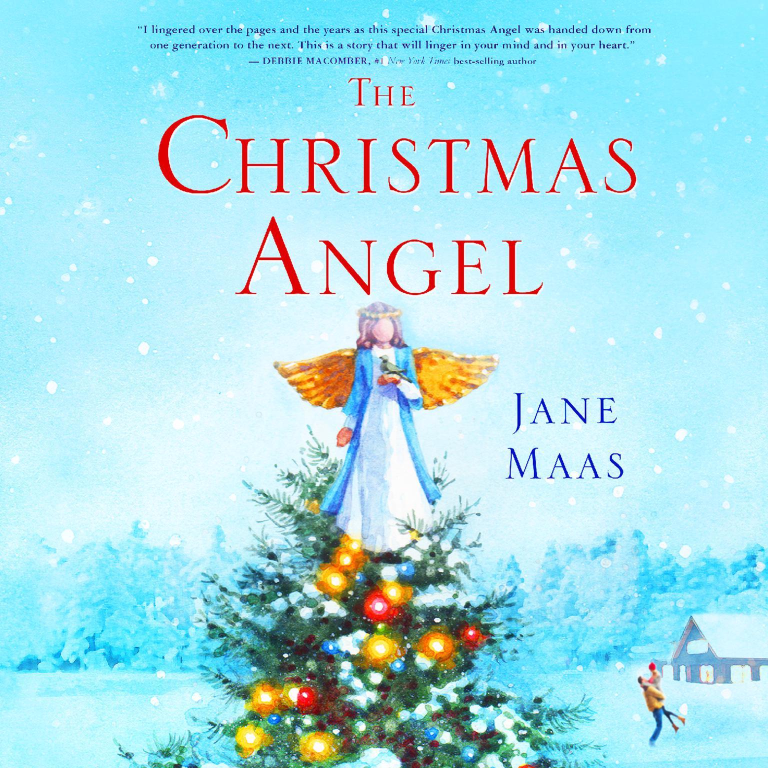 Printable The Christmas Angel Audiobook Cover Art