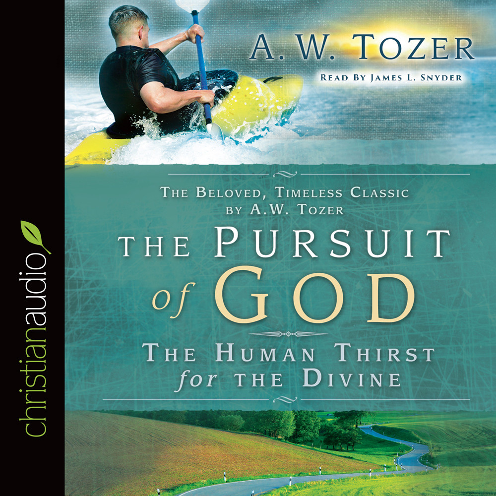 Printable The Pursuit of God Audiobook Cover Art