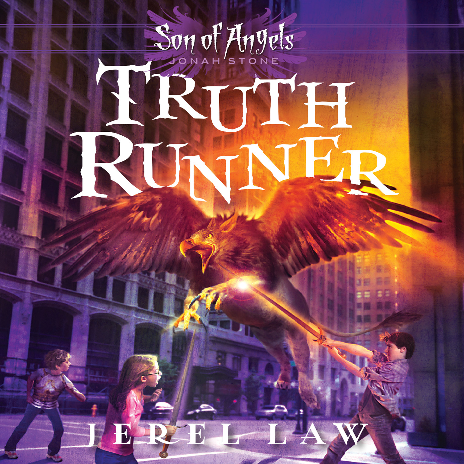 Printable Truth Runner Audiobook Cover Art