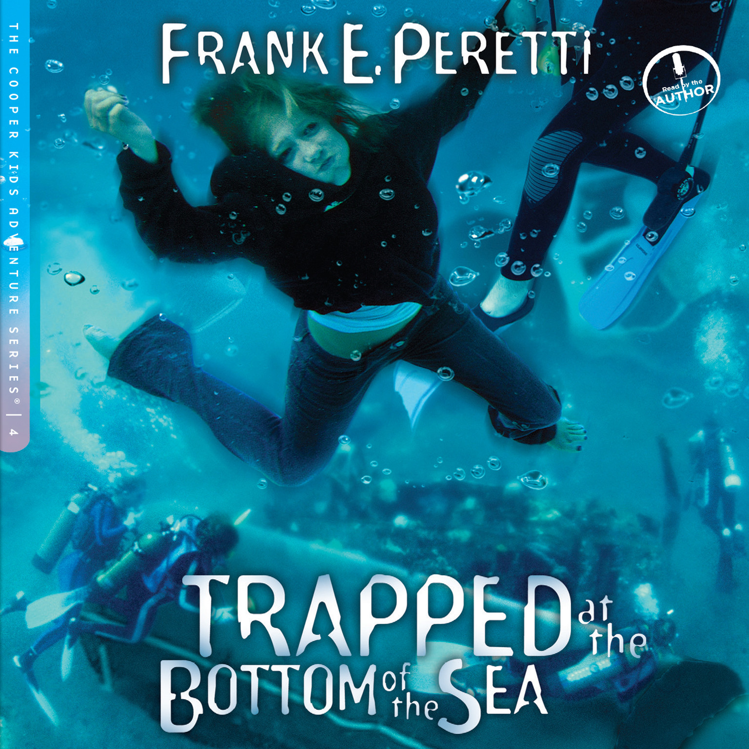 Printable Trapped at the Bottom of the Sea Audiobook Cover Art