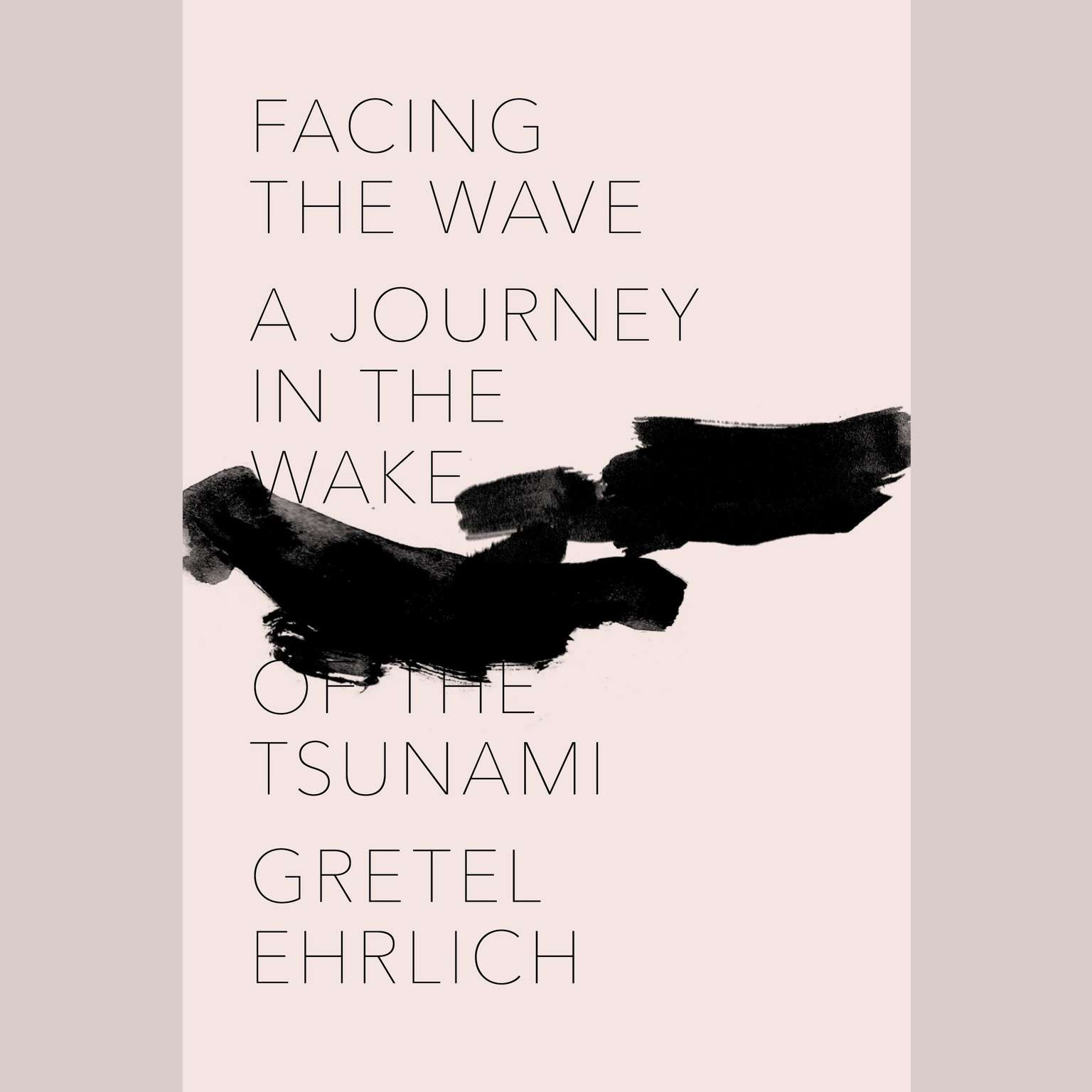 Printable Facing the Wave: A Journey in the Wake of the Tsunami Audiobook Cover Art