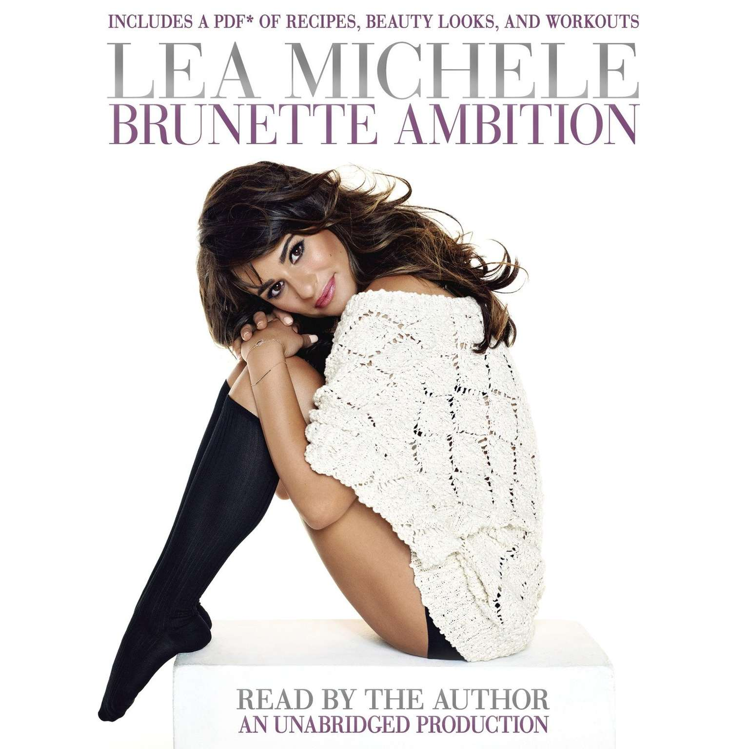 Printable Brunette Ambition Audiobook Cover Art